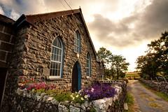 IMG_0962F (Cilmeri) Tags: flowers wales clouds churches chapels snowdonia contrejour gwynedd eryri trawsfynydd cwmprysor