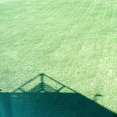 upsidegreen (Villisca Winterkill) Tags: green triangle shadows lawn