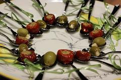 Circle of Olive (katyrlynch) Tags: food olives peppers oilandvinegar oilvinegar thegardensmall