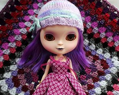 Vera (pacific_rin) Tags: doll crochet blanket icy blackberrywaysquare3