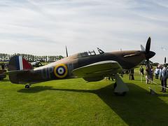 Goodwood Revival 2015 Vintage 1940 Hawker Hurricane Mk I (fstop186) Tags: vintage hurricane 1940 goodwood hawker revival 2015 mki