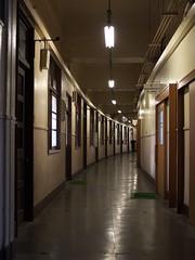 Offices of Tsukiji Market (elminium) Tags: japan tokyo corridor tsukiji dmcg1