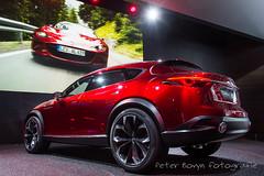 Mazda Koeru Concept (Perico001) Tags: mazda koeru suv conceptcar prototype 4x4 4wd awd iaa internationaleautomobilausstellung frankfurt duitsland germany deutschland autosalon autoshow motorshow nikon df auto voiture car vhicule vehicle worldcars