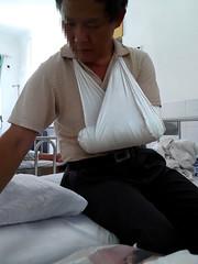 SNC02382_副本 (pa_lbe) Tags: arm stump bandage amputee lbe