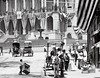 C. 1900 Summer in Boston, detail (Historicimage) Tags: boston americanflag americana 4thofjuly vintagephoto bostonstatehouse bostonmassachusetts oldboston vintageboston parkstreetboston beaconstreetboston patrioticboston