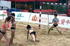 DSC03534 (rickytanghkg) Tags: beach hongkong women sony match handball a550 sonya550