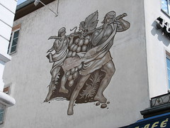 20150629 Wall painting in Rdesheim (greger.ravik) Tags: classic germany painting wine vin wein whine vggmlning tyskland2015