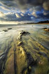 Tanjong Jara | Dungun (dimensionartpicture) Tags: sunrise landscape sony pantai dungun tanjungjara a6000 seberangpintasan