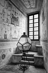 alternative lamp (*magma*) Tags: light window lamp backlight finestra palazzo controluce lampada farnese