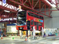 GAL E216 - SN61DDU - BX BEXLEYHEATH BUS GARAGE - FRI 23RD OCT 2015 (Bexleybus) Tags: bus london ahead kent garage go 400 dennis enviro bexleyheath adl bx goahead e216 sn61ddu