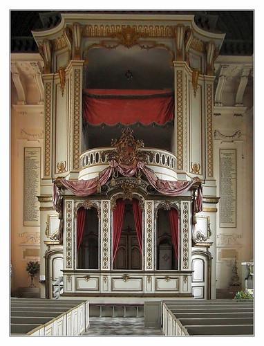 Ludwigslust- Stadtkirche Patronatsloge 02