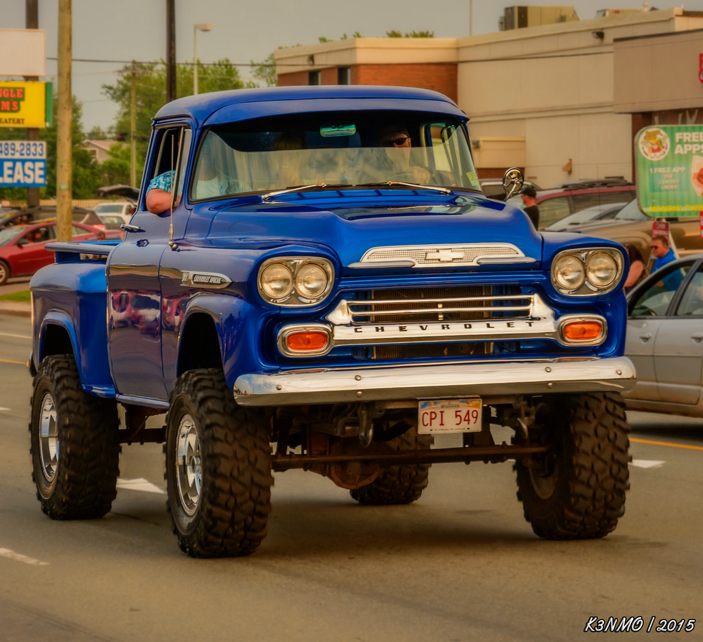 Classic Chevy Truck 4x4 Save Our Oceans 1957