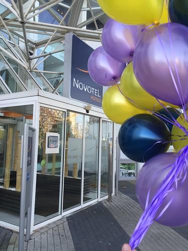 Heliumballonnen Novotel Brainpark Rotterdam