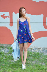 Trice Nagusara Floral Dress (Trice Nagusara) Tags: street blue ladies color cute floral colors fashion female clothing dress feminine streetphotography style blogger sneakers dresses manila styles denim casual chic petite petites trice stylish whiteshoes streetshot fashionable lapetite bluedress casualday denimvest streetstyle whitesneakers streetshoot ladiesfashion stylishoutfit casualstyle fashionblogger casualoutfit petitestyle manilablogger fashionbloggerinmanila styleforpetite styleforpetites tricenagusara petiteblogger fashionbloggermanila petitestyles lapetitetrice casualootd manilafashionblogger