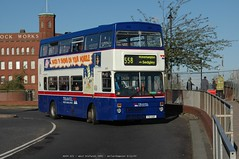 Travel West Midlands 3091 051109 Wolverhampton [jg] (maljoe) Tags: westmidlands travelwestmidlands mcwmetrobus nationalexpressgroup nationalexpresswestmidlands