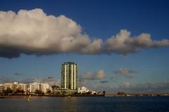 Lanzarote Landmark (simonturkas) Tags: sun beautiful clouds amazing sunny lanzarote canaryislands arrecife