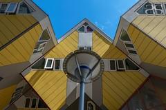 Kubuswoningen (Cube Houses) (Shirshendu Sengupta) Tags: venice sea holland netherlands dutch river rotterdam village waterfront scheveningen north maas giethoorn