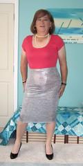 "Silver Skirt (Trixy Deans) Tags: cute sexy tv cd crossdressing tgirl transgendered crossdresser crossdress skirts sexylegs transsexual classy shemale sexyblonde transvesite sexyheels trixydeans skirt"" sexytransvestite"