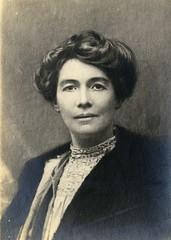 Emmeline Pethick Lawrence, c.1910.