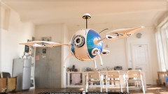 Dron 3D - Render en Interior - Keyshot (Juan Camilo Bedoya Vargas) Tags: