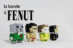 la bande  FENUT hros pose (totopremier) Tags: lego babar blockhead kk fenut forgeot xenope