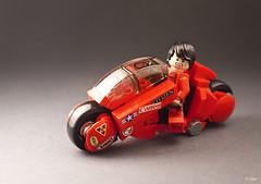 Akira – Kaneda's Bike (_Tiler) Tags: anime bike lego manga motorcycle akira cyberpunk kaneda otomo katsuhiro
