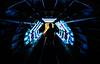 Neon Corridor I (Christophe Cros) Tags: delete10 delete9 delete5 delete2 delete6 delete7 delete8 delete3 delete delete4