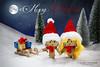 Merry Christmas 2015 (Tanja Arnold Photography) Tags: christmas xmas schnee snow canon weihnachten toy toys eos amazon figure spielzeug figur karton danbo revoltech danboard danboo danboru 5dmkiii kartonmännchen danbō tanjaarnold tanjaarnoldphotography danbōru