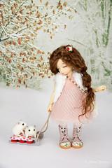 ❅Christmas Carols❅ (AnnaZu) Tags: christmas new shop ball happy doll candy plumeria handmade year present bjd accessories etsy carols lollipop fairyland sledge ante littlefee vesnushka
