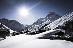 French Alps In Winter, Val d'Isre (picturesofthingsilike) Tags: snow france alps french val adobe lightroom disre