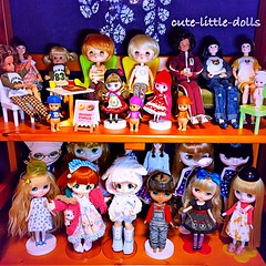 Part of Doll Shelf in my bed room🎵