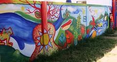 Papeluchines (Felipe Smides) Tags: mural niños rìos niñas victorjara valdivia mapuche libres newen lanco pàjaros smides felipesmides luchìn