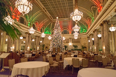 Christmas Lighting at Palace Hotel, San Francisco, California USA (takasphoto.com) Tags: christmas xmas holiday navidad holidays noel event holidaylights holidayseason christmaslight christmaslighting holidaylighting eventphotography