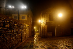 Streets of Erice (VincenzoGuasta) Tags: travel streets fog real nikon gothic chiesa duomo nebbia viaggi strade sicilia madre erice trapani cattedrale gotico matrice allaperto d5200