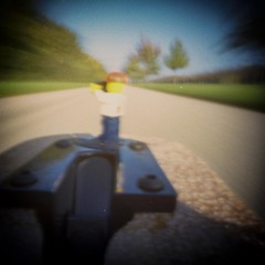 2015-12 -30 Daredevil Joeri (Ralph on and off) Tags: longexposure analog movement perspective pinhole joeri converginglines dianamultipinholeoperator ~5sec
