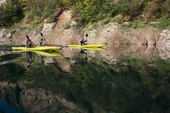 Fall Paddle (Advanced Elements) Tags: italy kayak italia canyon elements paddling ae trentino advanced valdinon airfusion