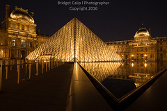 Louvre Museum and It's Reflection at Night  - Musee du Lovre (Bridget Calip - Alluring Images) Tags: 2016 alluringimagescolorado architecture bridgetcalip city culture dramatic dusk europe evening exterior france illuminated louvre museum night old paris sky summer sunrise sunset traditional travel water allrightsreserved art attraction background building cityscape contemporary copyspace copyrighted destination destinations european famous fountain french glass golden heritage historic historical hour illumination landmark light mirror modern monument moody nightscapes nobody outdoor palace panoramic place pond pyramid reflection scene sightseeing tourism tourist touristic twilight unesco urban view usa