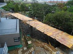 Puente peatonal Universidad  EAFIT. Parque de Los Guayabos (eafitcentromultimedial) Tags: concretodeultradesempeo puentepeatonal universidadeafit eafit puente peatonal campus parquedelosguayabos peatones construccin uhpc diseo estructura concreto