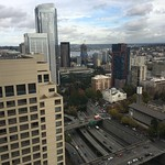 Looking towards South Lake Union from the Bank of America building on 5th and Marion thumbnail