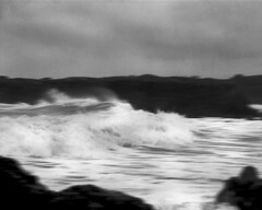 r011-10 (sheelkapur) Tags: filmisnotdead ishootfilm ilford hp5 iso400 mamiya rz67 pro gameoftones waves storm pescadero california tones sekkor mediumformat epson v800 analog analogue film landscape ocean