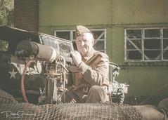 Oxfordshire Home Guard Defending Bicester Airfield (Peter Greenway) Tags: bicesterairfield ww2 army airfielddefence homeguard british brengun thehomeguard lewisgun oxfordshirehomeguard worldwar2 civildefence reenactment bicesterheritagecentre vickersmachinegun vickersmediummachinegun