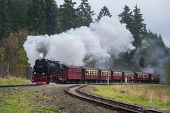 HSB - DREI ANNEN HOHNE (Giovanni Grasso 71) Tags: drei annen hohne harz bahn spur br99 locomotiva vapore scartamento metrico nikon d610 giovanni grasso