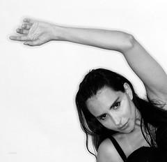 Cecilia Mamede (ceciliamamede) Tags: cecilia mamede model ny modelo black white studio branko newark nj ironbound rolleiflex sinar hy6 medium format digital lumedyne ring flash brasil brazil