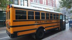 Penn Hills Bus 274 (Etienne Luu's Archives) Tags: penn hills school district ic bus ce krise services