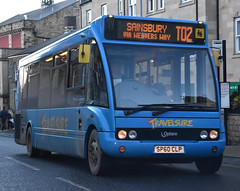 Travelsure: SP60CLP (Cobalt271) Tags: travelsure optare solo m880sl blue livery nebuses