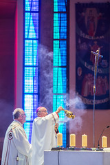 Mass For The Closing Of The Year Of Mercy in the Liverpool Cathedral (Catholic Church (England and Wales)) Tags: mass for the closing of year mercy liverpool cathedral bishop crucifix incense
