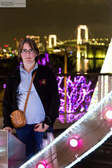 Laure  Odaiba (Guillaume Chagnard Photographie) Tags: japon tokyo japan odaiba rainbow bridge rainbowbridge