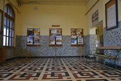 (snoeziesterre) Tags: reizen treinreizen nvbs sne 2016 hongarije sloveni oostenrijk treinen trains traintravels traveling zalaegerszeg station wachtkamer