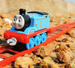 Thomas Tavelling Hard way (pondicherry arun) Tags: thomasfriends thomas kevin victor bash percy toy train pondicherry puducherry pondicherryarun