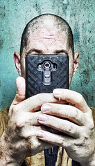 Faceless Selfie (Trippin' all over the place) Tags: selfie texture faceless smartphone android layers portrait